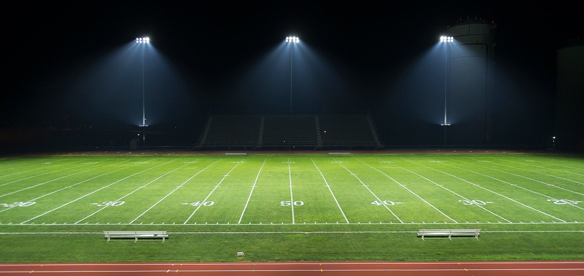 Led Lighting For Sports Fields Oeo Led Lighting