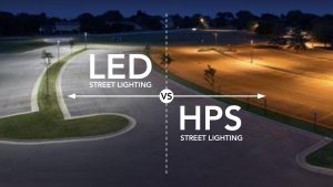 High Pressue Sodium vs LED
